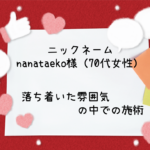 nanataeko様 口コミ